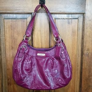 Coach Purse Hobo bag patent leather